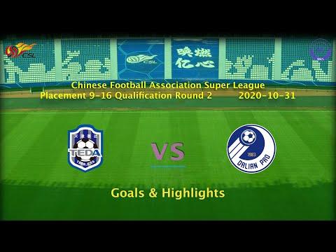 Tianjin Teda Dalian Pro Goals And Highlights