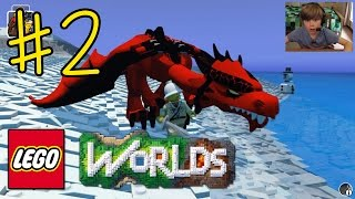 Ethan plays LEGO Worlds (#2) - MY PET DRAGON!