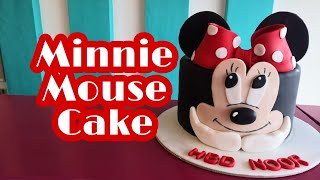 How to Make Minnie Mouse Cake  Step by Step