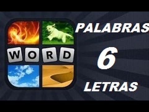 Soluciones de 6 Letras - Niveles 1 a 961 - 4 Fotos 1 Palabra. Ver descripción! Android, iPhone, iOS