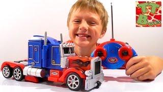 ✔ Трансформер Оптимус Прайм. Видео для мальчиков. Игорек и Игрушки. Transformers Optimus Prime. VLOG(Всем привет. Трансформер Оптимус Прайм на Ваших экранах. Новая игрушка, с которой Игорек проделает разные..., 2015-11-01T11:28:12.000Z)