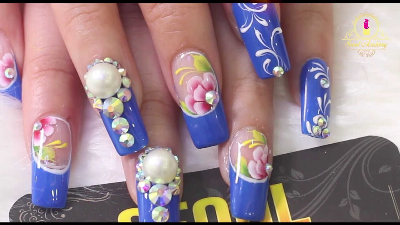 New Nail Design 2018 - by Học Viện Nail Seoul - YouTube