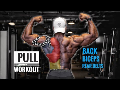 PULL WORKOUT | FULL BACK & BICEPS ROUTINE