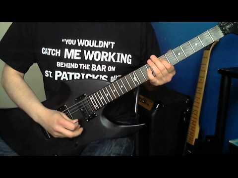 Metallica  My Apocalypse Guitar  & Solo Vintage Warp