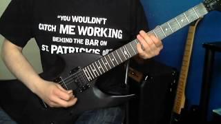 Metallica - My Apocalypse (Guitar Cover & Solo) Vintage Warp