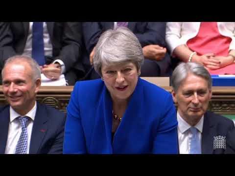 Theresa May's last