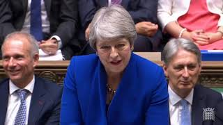 Theresa May's last PMQs: 24 July 2019