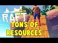 This Island Has All The Resources | RAFT Survival Multiplayer Gameplay | E2
