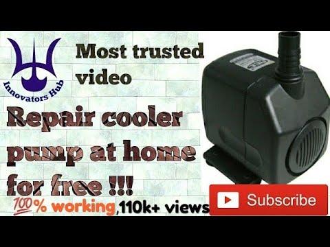 How To Repair Old Air Cooler Pump At Home(submersible Pump)इस साल कूलर चालू करने से पहले ज़रूर देखे !