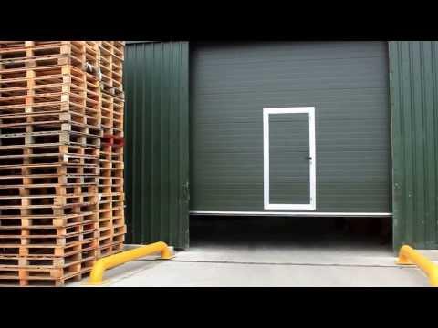 Sectional Door with Pass Door