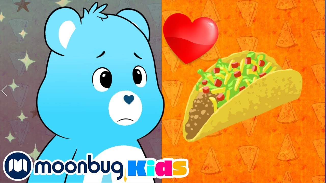 The Care Bears - I Really LOVE Tacos Song | Baby Favorite Food | Care Bears Kids Songs | BRAND NEW