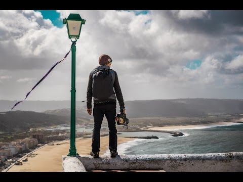 Nazaré Play. Multisport guide to happiness. BASE, Tow-in surf, DH SK8, Speedflying