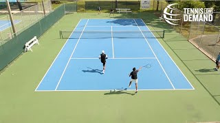 Ping Pong Tennis Game to improve tactics and learning to read the ball early I Tennis On Demand
