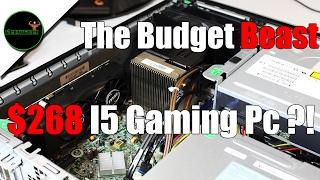 The $268 i5 3470/ GTX 1050 Ti Budget Gaming PC