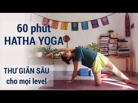 60 Phút Hatha yoga thư giãn sâu, tăng thể tích hơi thở, sức đề kháng (cho cả yoga bầu và người mới)