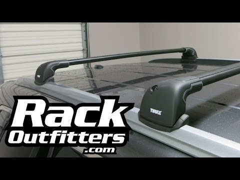 Best Roof Rack for Honda Pilot the Thule AeroBlade Edge from Rack Outfitters