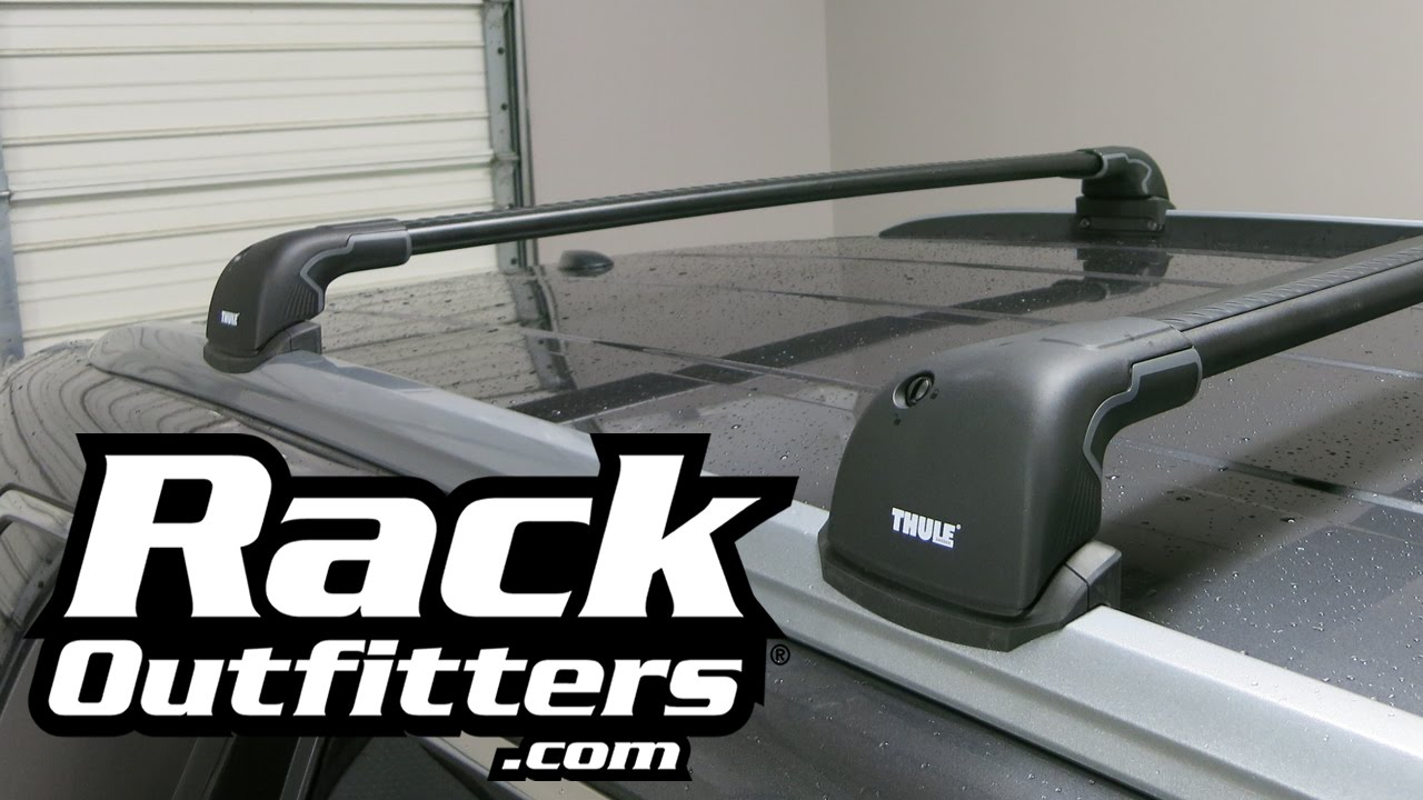Best Roof Rack For Honda Pilot The Thule AeroBlade Edge From Rack  Outfitters   YouTube