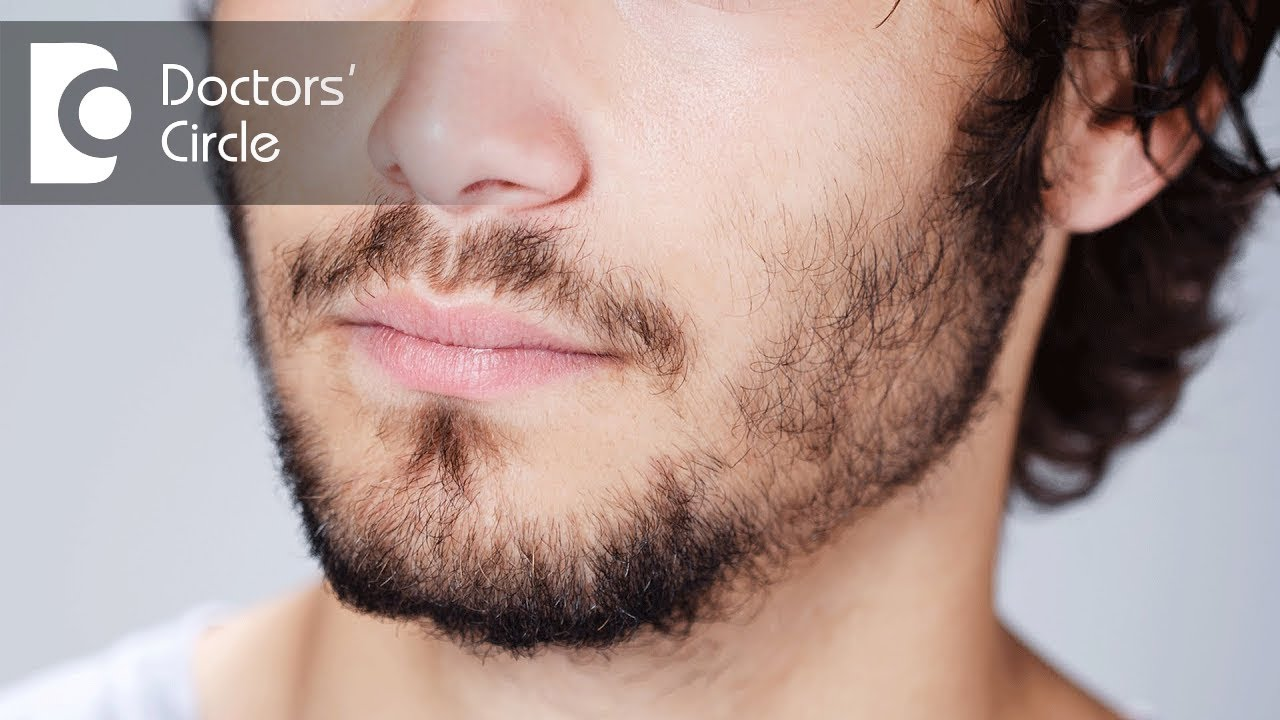 Encourage facial hair