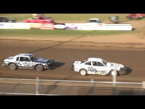 IMCA Stock Car Heat 2 Independence Motor Speedway 8/10/19