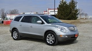 2009 Buick Enclave CXL AWD Silver For Sale Dealer Dayton Troy Piqua Sidney Ohio | CP13849T