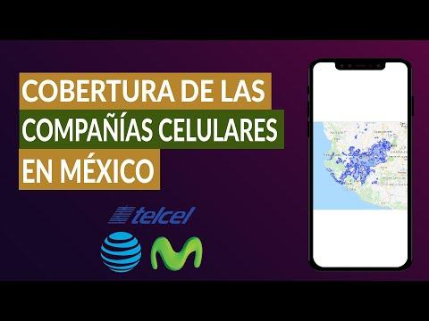 Cómo Saber o ver el mapa de Cobertura de las Compañías Telcel, Movistar, At&t y Unefon en México