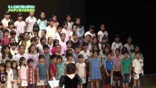 新曲の発表イベントで、松山市内の小学生約180人が『春や昔』を歌ってく...
