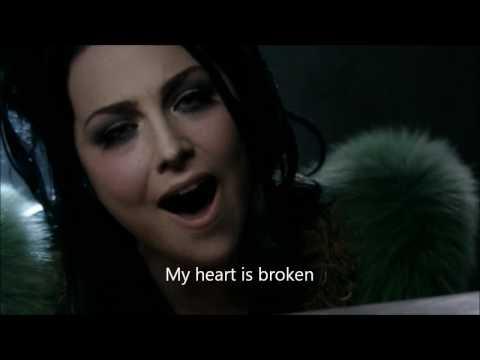 Evanescence-My Heart is Broken Official Music Video w/Lyrics On Screen (HD)