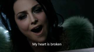 Evanescence-My Heart is Broken Official Music Video w/Lyrics On Screen (HD)