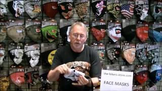 Zan Headgear Face Masks - Neoprene Face Masks - Motorcycle Face Masks