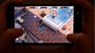Samsung Galaxy Note [Dungeon Hunter 3] GAMEPLAY [HD]