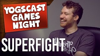 WILLY WONKA vs CHUCK NORRIS - Superfight (Games Night)