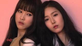 한국풍향 여자친구 화보촬영 현장스케치 영상, GFRIEND Making film