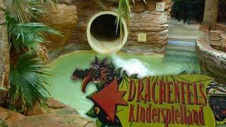 Center Parcs Bispinger Heide - Drachenfels Kinderrutsche