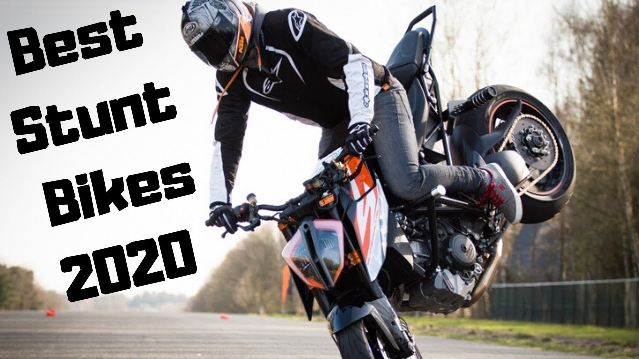 Top 5 Stunt Motorcycles Of 2020 Youtube