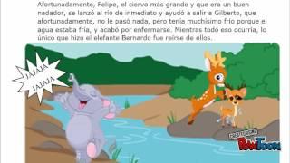 Cuento infantil -Bernardo el elefante
