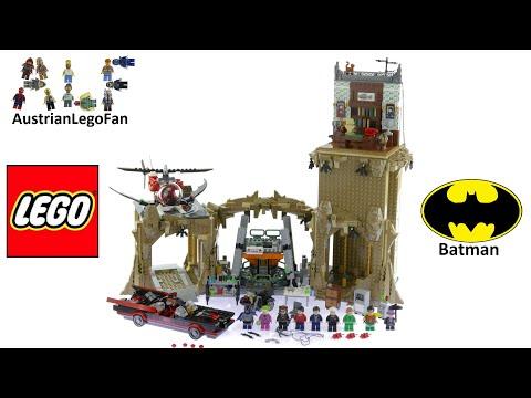 Lego Super Heroes 76052 Batman Classic TV Series : Batcave - Lego Speed Build Review
