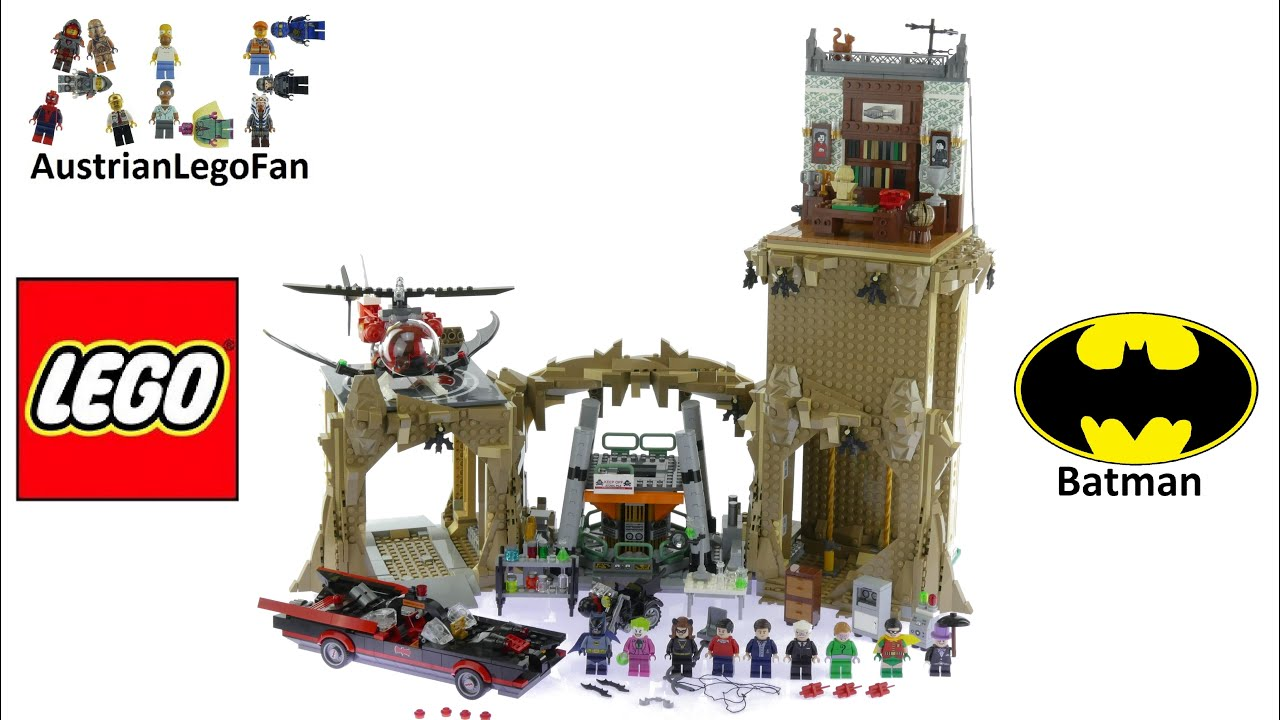 Batcopter /& Batcycle Split from LEGO 76052 DC Comics Super Heroes 1966 Batman