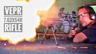 Custom VEPR 7.62x54r:  Shooting At The Range!