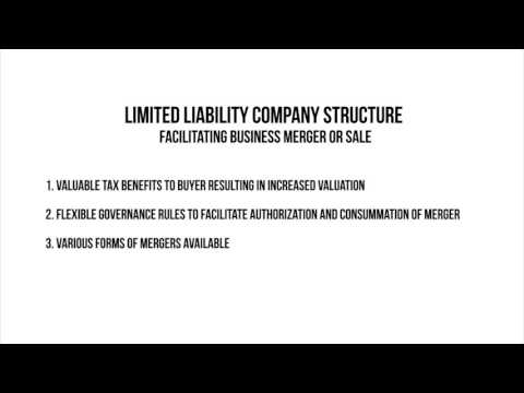 John Klusaritz - Limited Liability Company Structure - Facilitating Business Merger or Sale