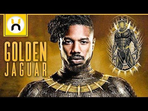 The Golden Jaguar Suit Explained   Black Panther
