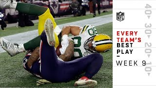 Every Team's Best Play from Week 9 | NFL Highlights