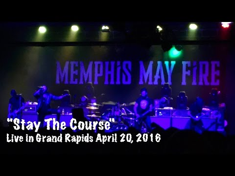 "Memphis May Fire ""Stay the Course"" live in Grand Rapids, MI 4/20/2016"