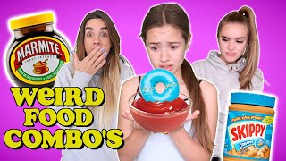 WE nearly DIED trying your WEIRD FOOD COMBINATIONS!