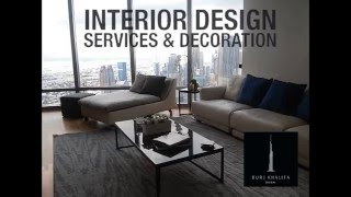 jorge rangel Burj khalifa flat  interior design & decoration Dubai