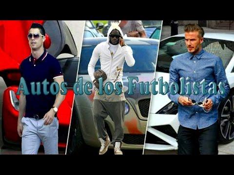 Los Autos mas Lujosos de los Futbolistas