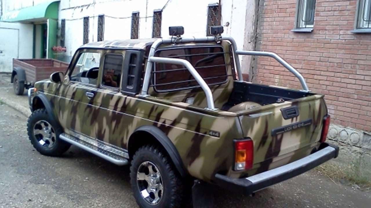 Русский пикап в авто