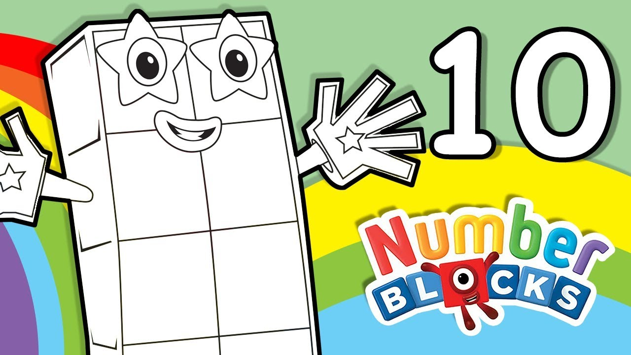 coloring pages counting numbers youtube - photo#27