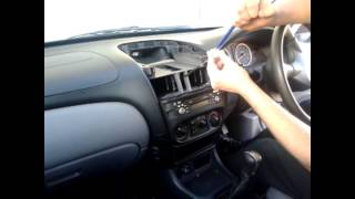 Radio Removal Nissan Almera (2000-2006) | JustAudioTips