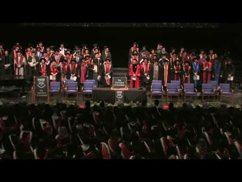 2013 Spring Graduation Ceremony 3: Faculty of Business and Economics