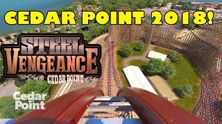 Steel Vengeance Cedar Point 2018 Roller Coaster POV Front Seat View